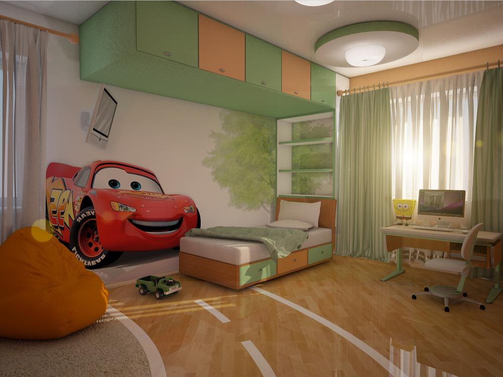 Цвет и дизайн помещений жилых комнат