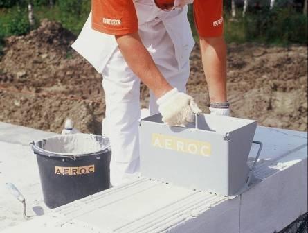 Инструменты для кладки газобетона - Какой инструмент купить для кладки газобетона