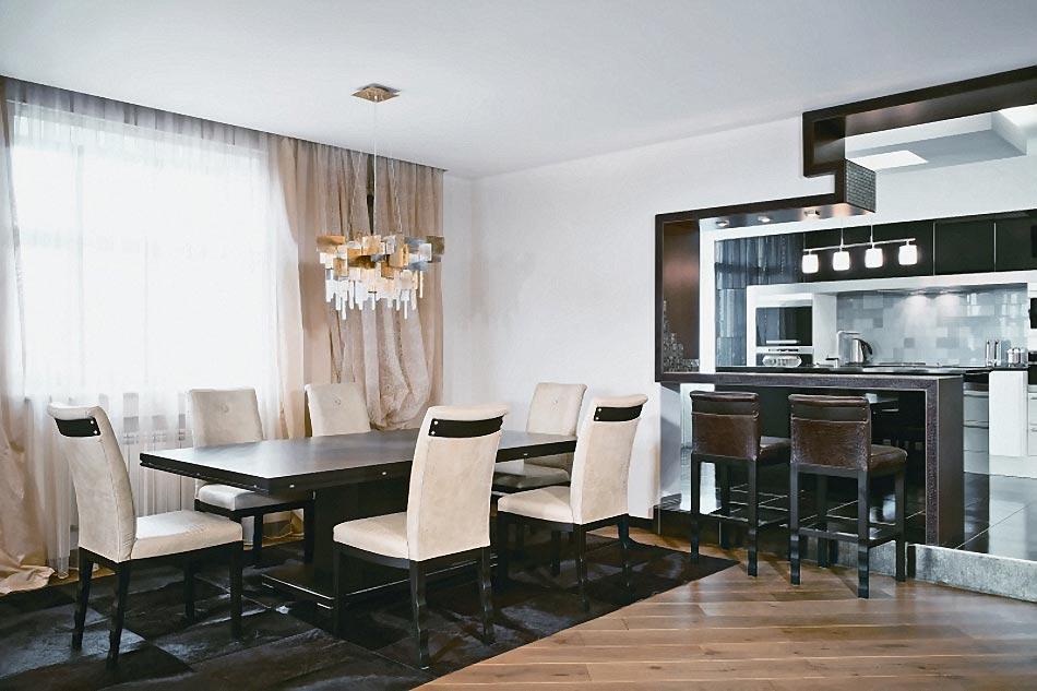 Дизайн интерьера столовой, фото столовых