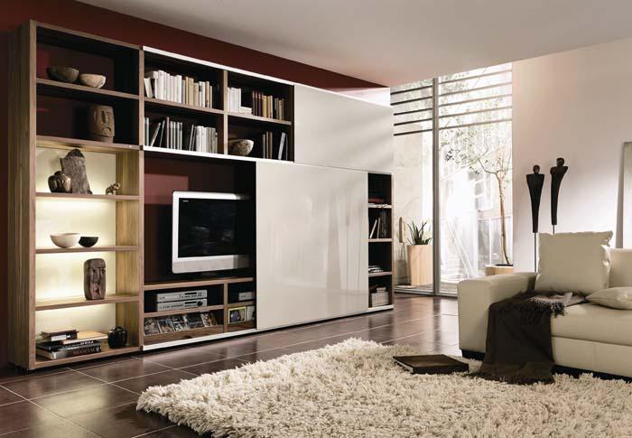 Мебель для гостиной. Как не загромождать гостиную. Модульная и корпусная мебель