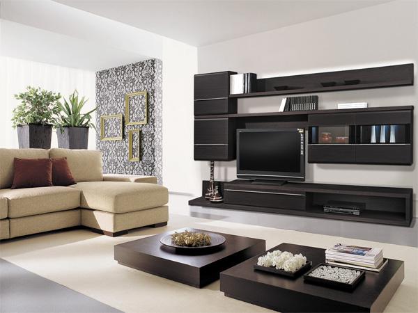 Корпусная мебель под телевизор для гостиной комнаты