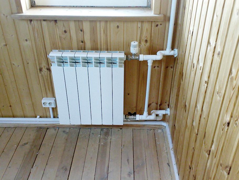 Принцип установки радиаторов и