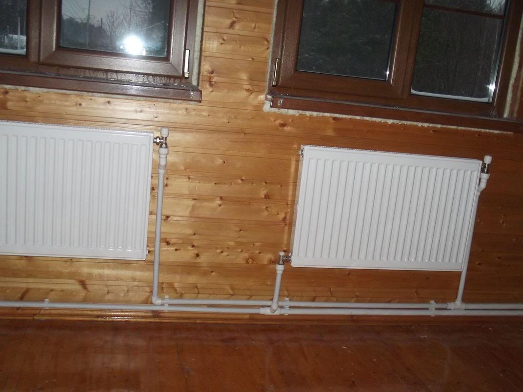 Система отопления дачного дома