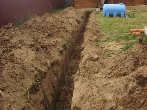 Прокладка и строительство канализации своими силами - Самостоятельная прокладка канализации