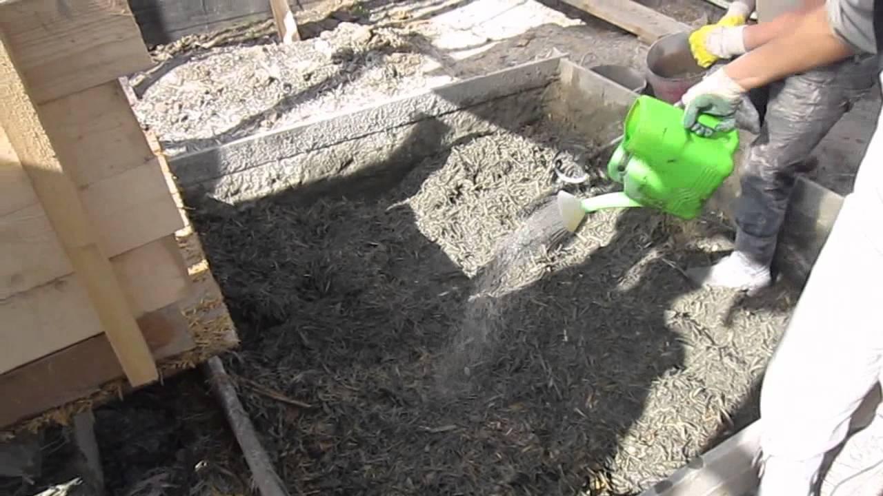 Строительные блоки своими руками из опилок