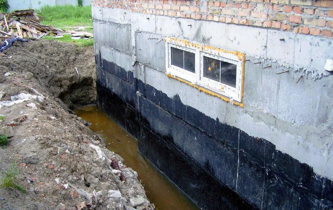Гидроизоляция оклеечная для фундаментов