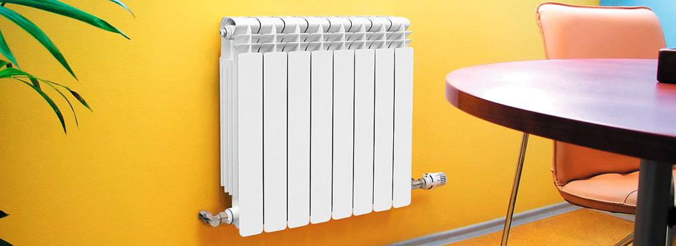 Самостоятельная замена батарей отопления