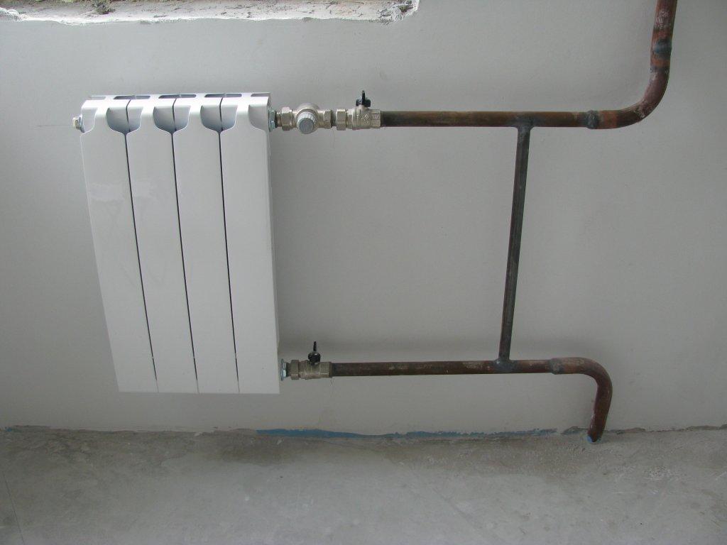 Самостоятельная замена труб отопления в доме