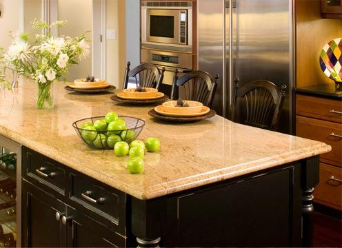 Как выбрать кухонную столешницу
