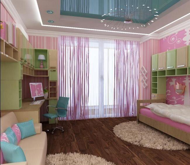 Интерьер детской комнаты для девочки 13 лет