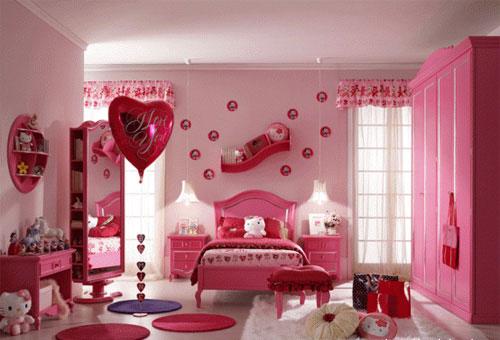 Детские комнаты для девочки и мальчика
