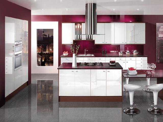 Кухни дизайн и выбор цвета
