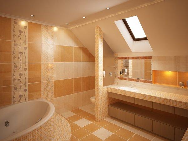 Дизайн ванной комнаты - Рисунки и Фото интерьера ванных комнат