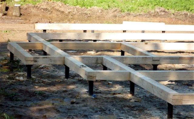 Строительство фундамента частного дома своими руками