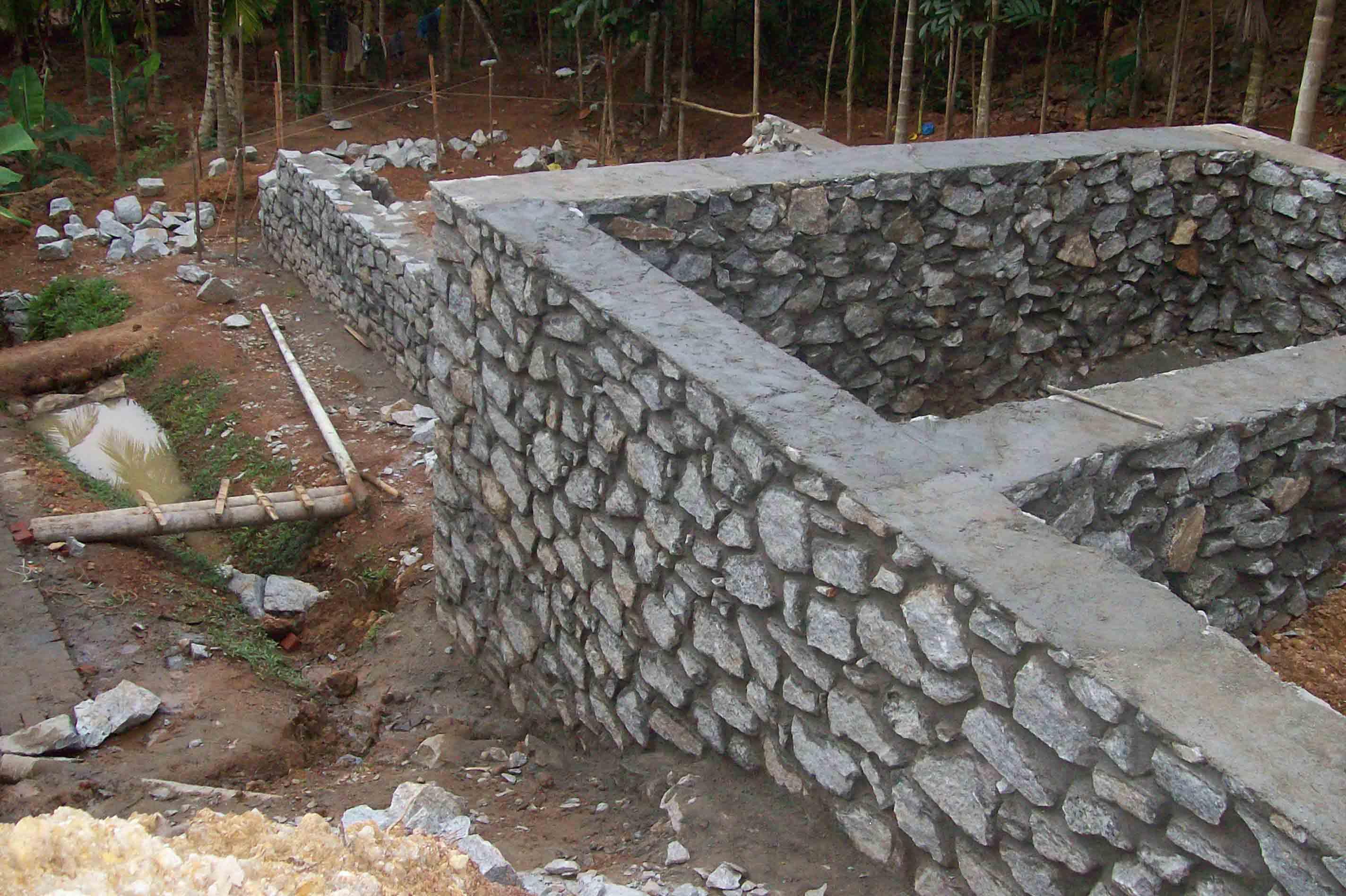 Дом своими руками из камня