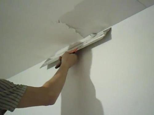 Выравнивание потолка своими руками. Как самостоятельно выровнять потолок.