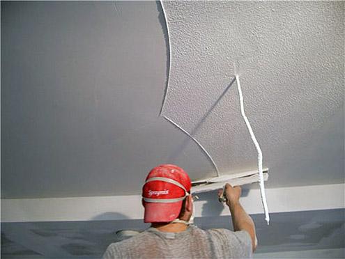 Как своими руками зашпаклевать потолок