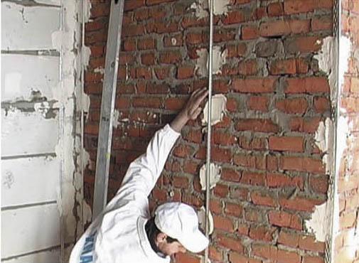 Как заштукатурить стены своими руками фото